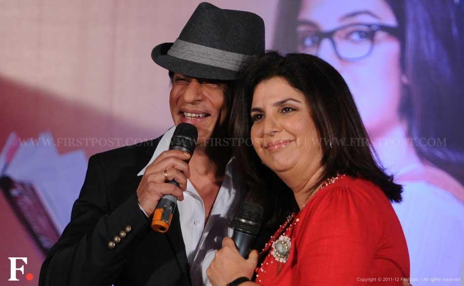 Shah Rukh Khan and Farah Khan. Sachin Gokhale/Firstpost