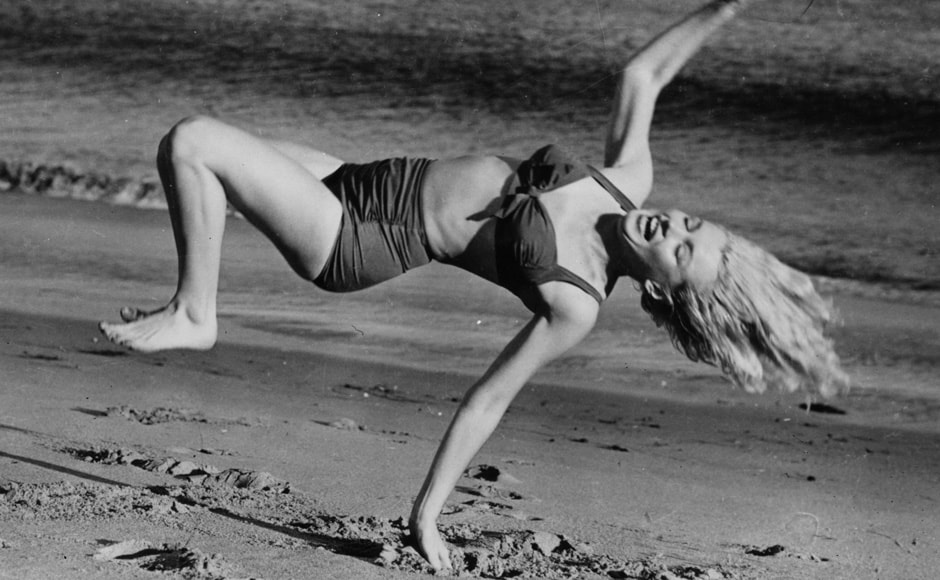 Marilyn Monroe. Getty Images