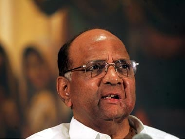 File photo of NCP chief Sharad Pawar. Reuters