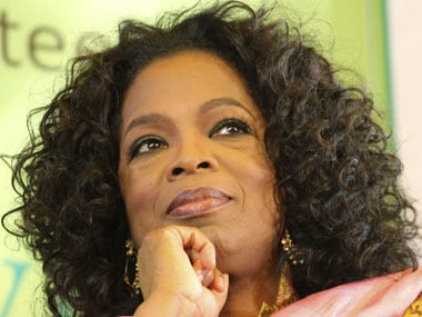 You still eat with your hands? Oprah's magical mystery tour of India