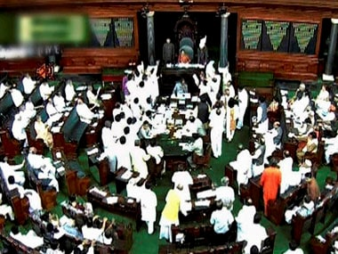Monsoon session of Parliament from 8 Aug-7 Sep
