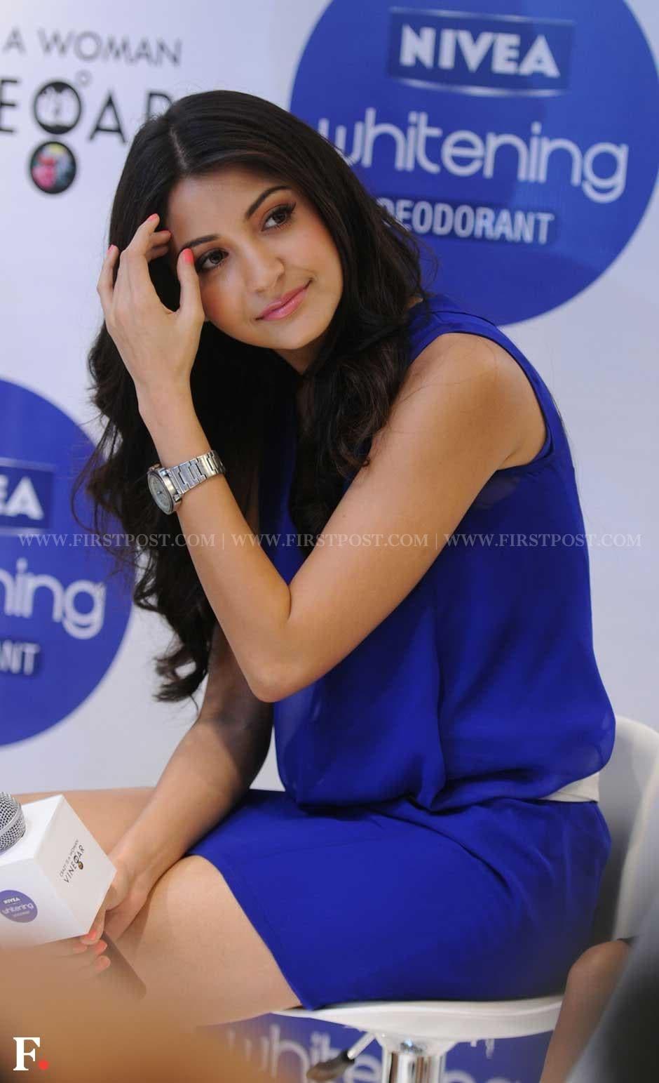 Anushka Sharma endorses Nivea whitening Deodorant. Sachin Gokhale/Firstpost