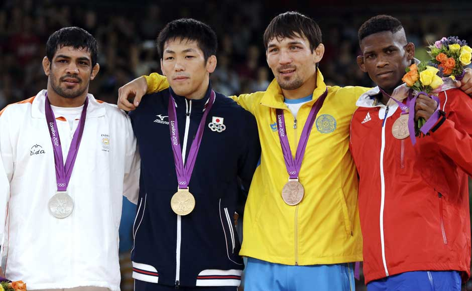 Images: Sushil Kumar adds silver lining to India's Olympics journey