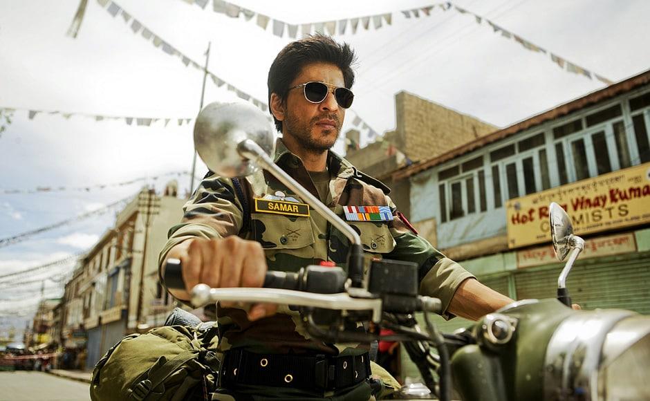 Shah Rukh Khan in Yash Chopra's untitled romance. Courtesy: Yash Raj Films