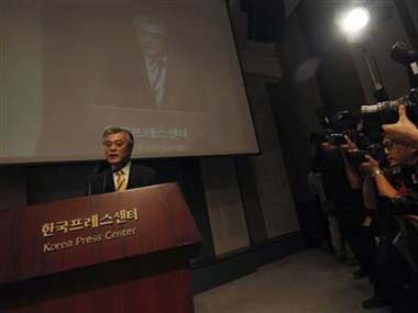 Moon Jae-In. Reuters