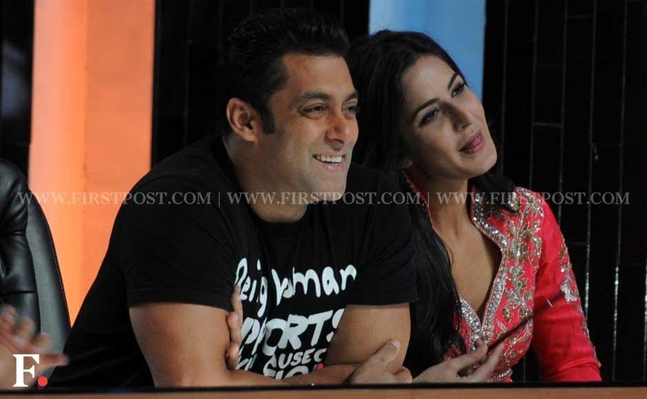 Salman Khan and Katrina Kaif on the sets of reality dance show Jhalak Dikhla Jaa. Sachin Gokhale/Firstpost