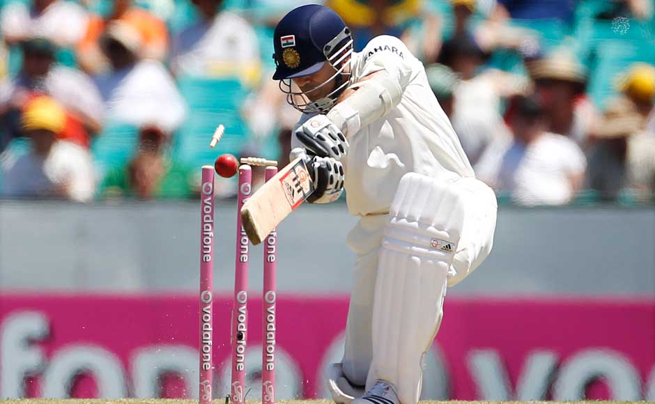 Even on tour in Australia, Sachin was bowled by the opponents. Did the cracks start to show then? Reuters