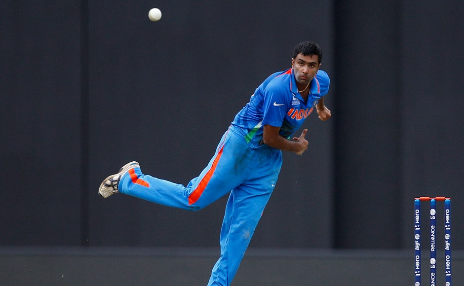 Ashwin was Pakistan's tormentor in chief, taking four wickets in a brilliant bowling performance. AP