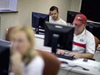 Modest US job gains won't help Obama's cause