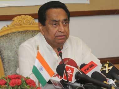File image of Madhya Pradesh chief minister Kamal Nath. Image courtesy PIB