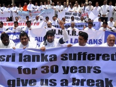 Tamils in Sri Lanka demand govt to disclose whereabouts of missing relatives