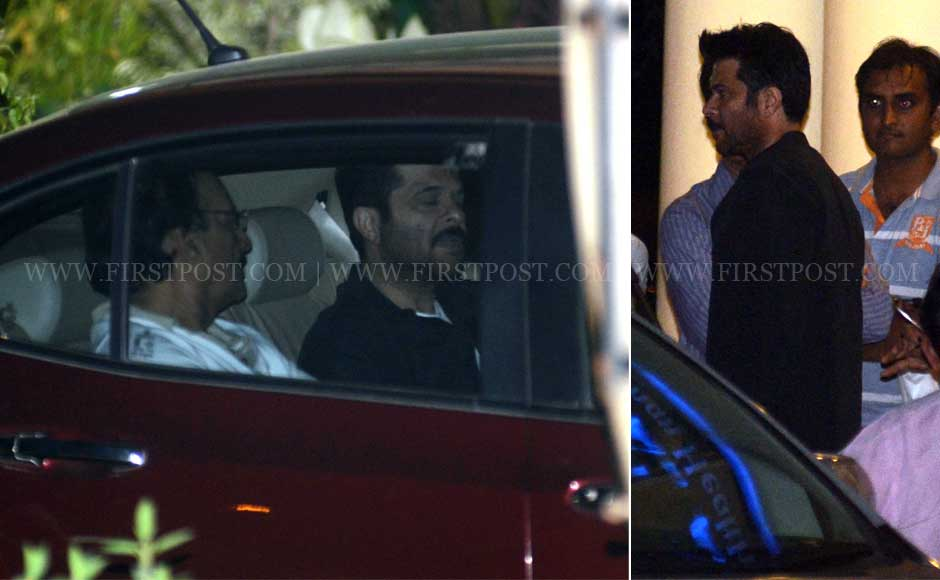 Anil Kapoor at Lilavati Hospital. Firstpost