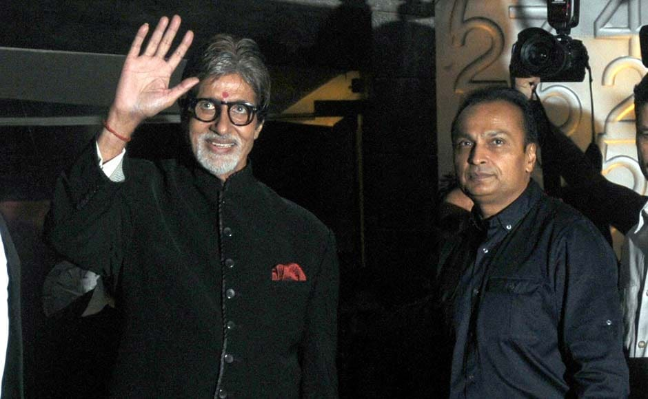 Images: Amitabh Bachchan's birthday dinner at Worli