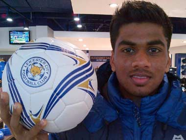 Indias Brandon Fernandes undergoes trials at Reading, Leicester