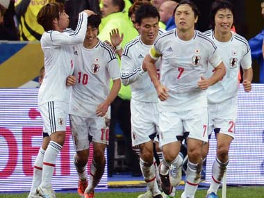 Japan shock France with 1-0 win
