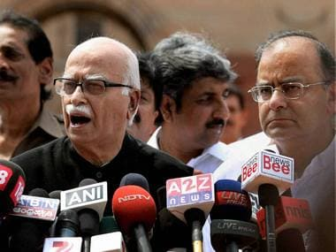Telangana would have been reality had TDP cooperated: Advani