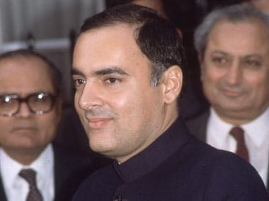 The allegation against Rajiv Gandhi as an arms dalal relates to the mid 1970s. Getty Images.