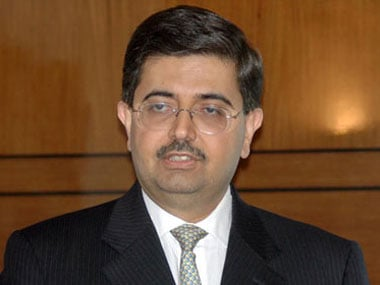 File photo of Uday Kotak. Reuters
