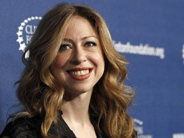 Chelsea Clinton tweets unusual photo of Hillary and Bill