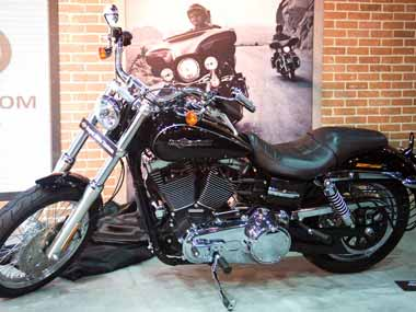 File photo of Harley-Davidson motorcycle. Agencies