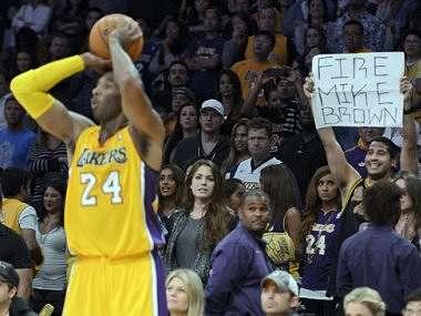 Kobe Bryant was in divine form. AP