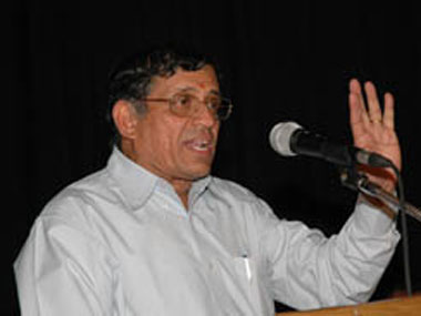 A file photo of S Gurumurthy. Reuters