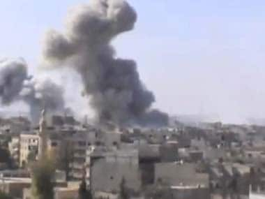 Israel fires missiles into south Syria; 'Some missiles shot down, others have hit target', says Syrian human rights group