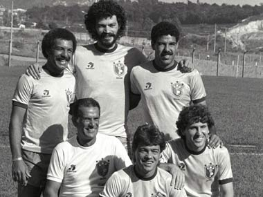 Socrates, Zico were the pillars of the 1982 team. Reuters