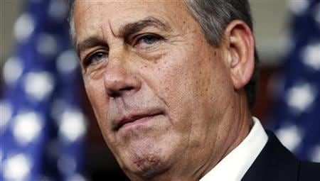 Frustrated Boehner digs in on U.S. 'fiscal cliff' talks