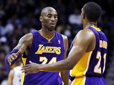 Kobe Bryant continues to scale new heights. AP