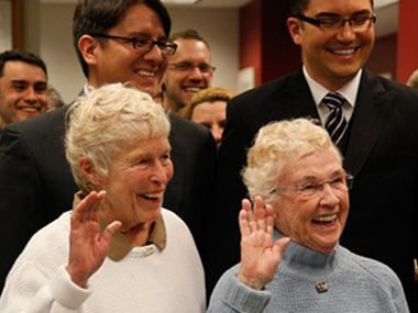 Same-sex couples finally get marriage licenses in Washington