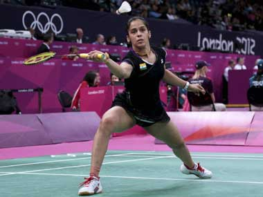 Saina Nehwal may have to play more tournaments at home. PTI