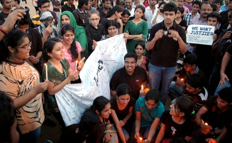 Images: Chennai out on street, protests against rape