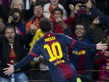 Messi expectedly makes it to the squad too. AP