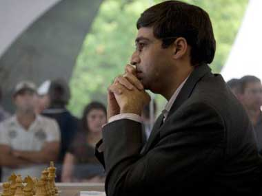 File picture of Vishwanathan Anand. AFP