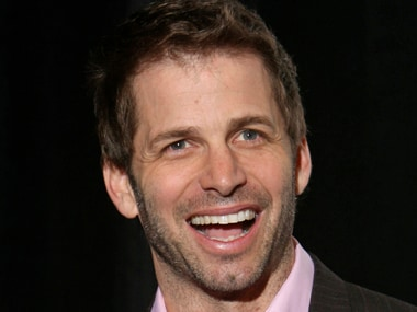 Film director Zack Snyder, recipient of the Director of the Year Award, arrives at the ShoWest Award show at the Paris Las Vegas resort in Las Vegas