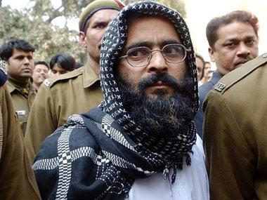 Afzal Guru. AFP