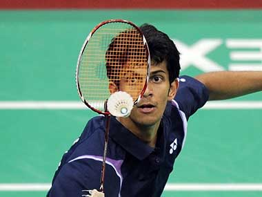 Ajay Jayaram won in just over 30 minutes. AFP