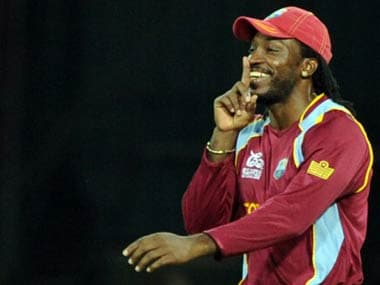 Chris Gayle heads the list of franchise players in the Caribbean Premier League. AFP