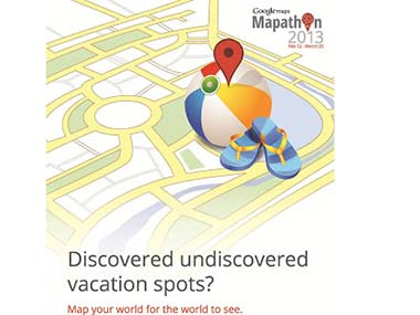 Googles Mapathon 2013 calls on users to improve India Maps