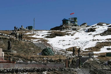 File image of Nathu La. Reuters