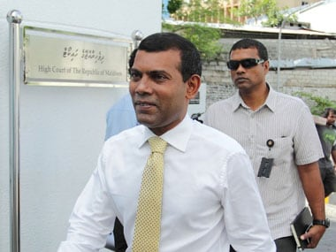The court summons follows Nasheed's failure to attend his previously scheduled trial hearing. AFP