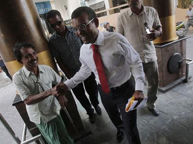 Mohamed Nasheed. Reuters