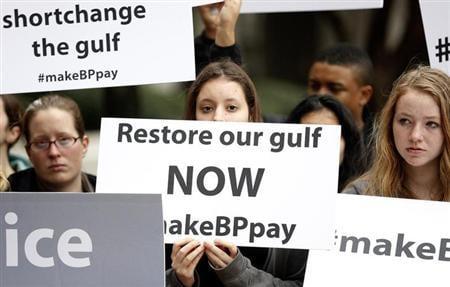 BP, contractors start trial for worst U.S. offshore oil spill