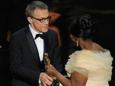 Christoph Waltz wins supporting actor prize for Django Unchained