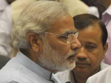 Gujarat Chief Minister Narendra Modi. PTI