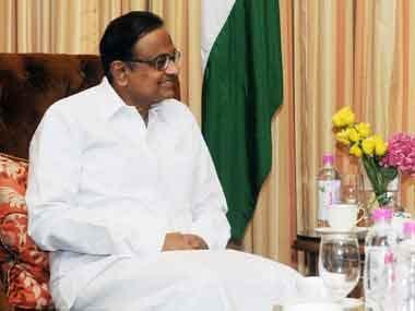 Finance Minister P Chidambaram. Image courtesy PIB