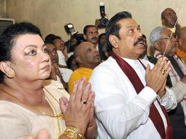 Rajapaksa returns to Sri Lanka after praying at Tirupati