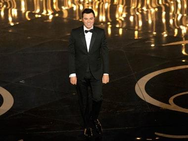Host of Oscars 2013, Seth MacFarlane.AP