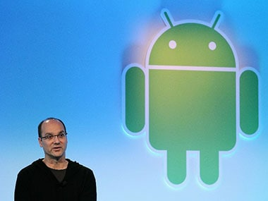 Essential Products' founder Andy Rubin. AFP.